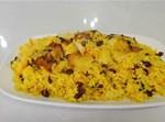 אורז עם שעועית אדומה וגזר