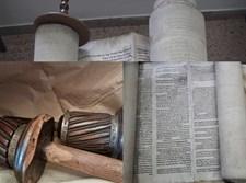 ספר התורה שחולץ מהכנסייה