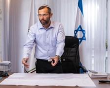 ראש מועצת בנימין ישראל גנץ