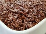 עוגת שכבות שוקולד חלבה ופצפוצי אורז