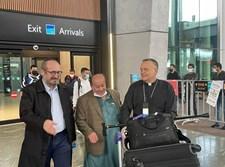 זבולון סימנטוב נוחת באיסטנבול