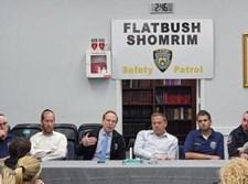 הפגישה עם ראשי ארגון השומרים