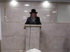 """האדמו""""ר מסאווראן ירושלים בהלווית אביו זצ""""ל"""