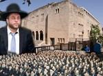 מיכי אלפר ובית הכנסת הגדול בחיפה
