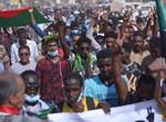 אזרחים בסודן מפגינים נגד הצבא