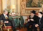 מלך בלגיה במפגש עם רבנים