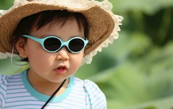 ילד בקיץ