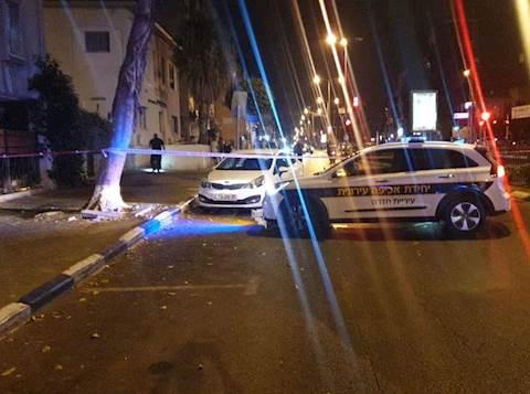 שוטר ירה ופצע ערבי ששלף סכין. הזירה