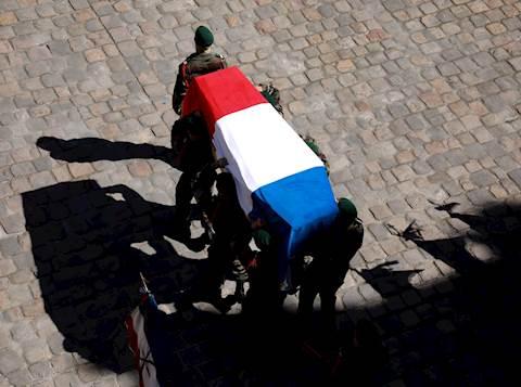 הלוויה בצרפת. אילוסטרציה