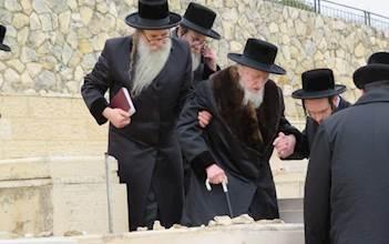הרבי מקאליש בהר הזיתים