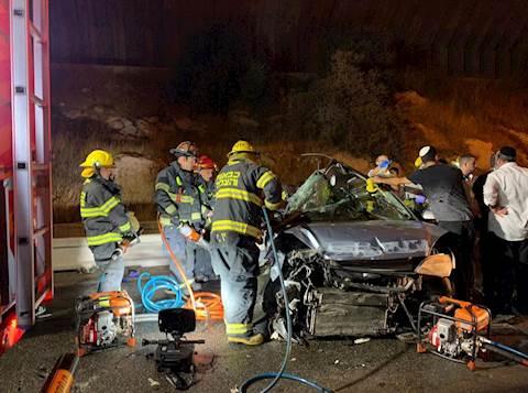 התאונה הקשה בכביש המנהרות