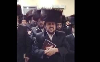 ליפא שמלצר בציון רבי לוי יצחק בברדיטשוב