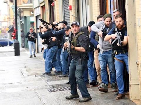 שוטרים חמושים בניו ג'רזי