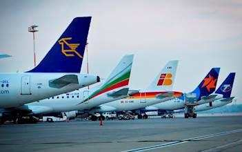 """מטוסים של חברות זרות בנתב""""ג"""
