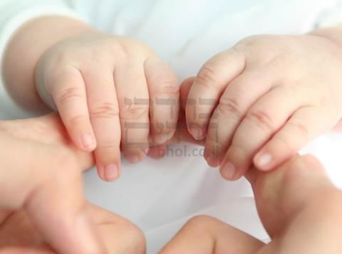 ידיים של תינוק