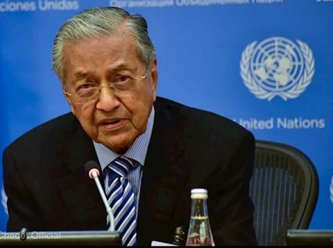 ראש ממשלת מלזיה מאטיר מוחמד