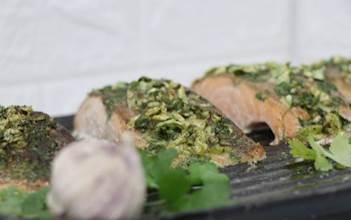 הכנת דג סלומון