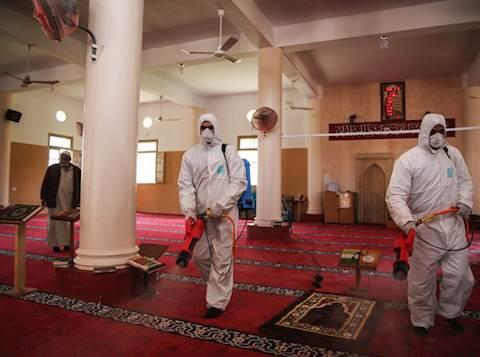 מחטאים מסגד בעזה
