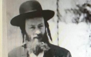 """רבי אברהם בוך ז""""ל בצעירותו"""