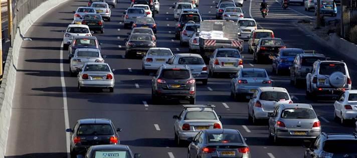 רכבים בכבישי ישראל