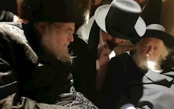 """גדולי ישראל הגר""""ח קנייבסקי והרבי מבעלזא"""