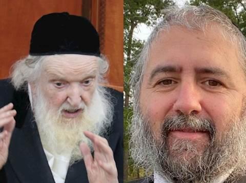 """הגר""""מ שטרנבוך וישראל אהרן קלצקין"""