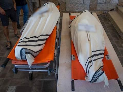 גופות בהלוויה. אילוסטרציה