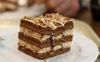 עוגת שכבות קפה