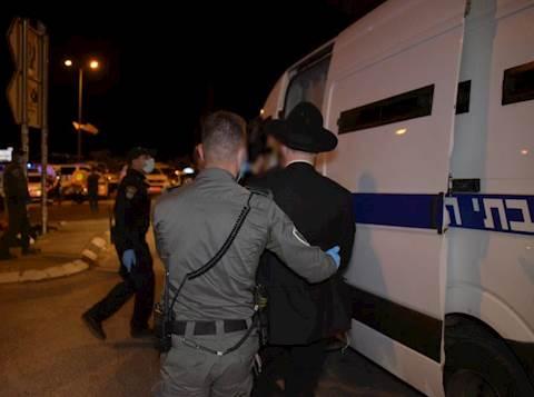 חרדי מובל למעצר