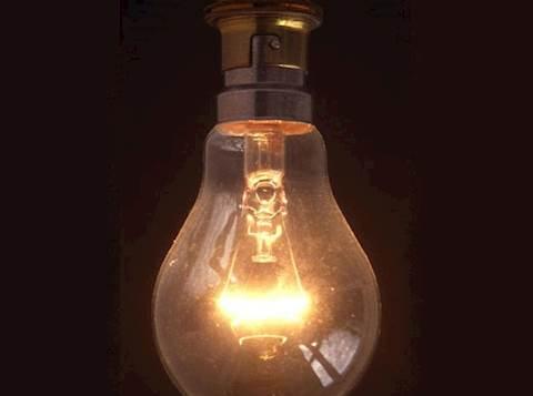 מנורה דולקת