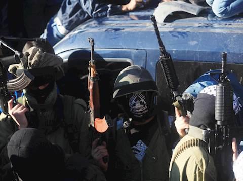 חמושים, צילום אילוסטרציה: פלאש90