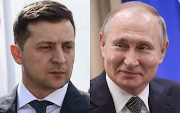 ולדימיר פוטין/ולודימיר זלנסקי
