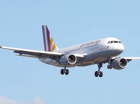 דגם המטוס שהתרסק, מחברת germanwings