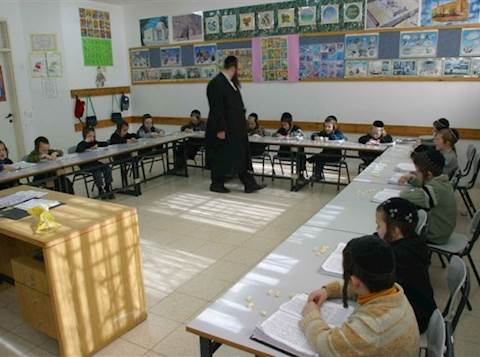ילדים בתלמוד תורה בביתר עילית. צילום אילוסטרציה