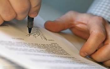 חתימה על חוזה
