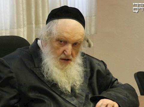 Hagaon Rabbi Moshe Sternbuch explains why to fight Mizrahi - בחדרי חרדים