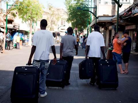מהגרים, אילוסטרציה