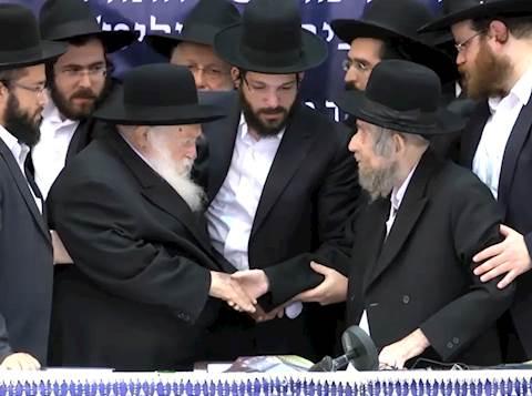 הרב שטיינמן הרב קנייבסקי
