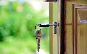 דלת, בית, מפתח, כניסה