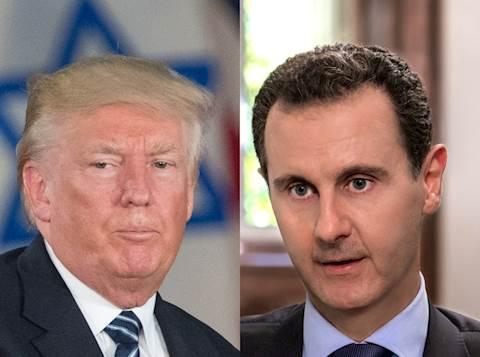 טראמפ/אסאד