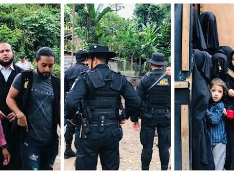 השוטרים פושטים על מתחם כת 'לב טהור'