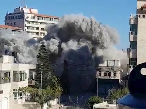 פיצוץ בית המחבל במחנה הפליטים אל עמרי