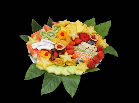 עיצובים בפירות